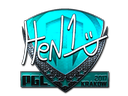 Sticker | HEN1 (Foil) | Krakow 2017