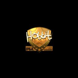 Sticker | Hobbit (Gold) | Krakow 2017