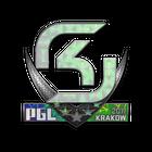 Sticker   SK Gaming (Holo)   Krakow 2017