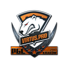 Sticker   Virtus.Pro (Foil)   Krakow 2017