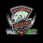 Sticker   Virtus.Pro (Holo)   Krakow 2017