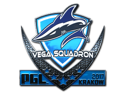 Sticker | Vega Squadron (Foil) | Krakow 2017