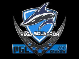 Наклейка | Vega Squadron | Краков 2017