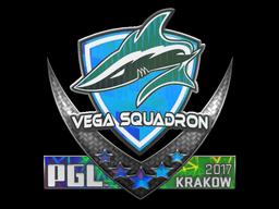 Наклейка | Vega Squadron (Holo) | Krakow 2017