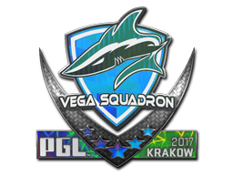 Sticker | Vega Squadron (Holo) | Krakow 2017