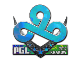 Sticker | Cloud9 (Holo) | Krakow 2017