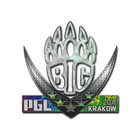 Sticker | BIG (Holo) | Krakow 2017