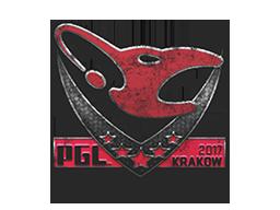 Запечатанный граффити | mousesports | Краков 2017