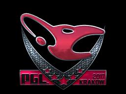 Наклейка | mousesports (Foil) | Krakow 2017