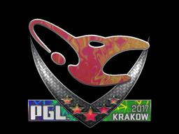 Наклейка | mousesports (Holo) | Krakow 2017