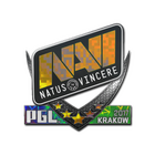 Sticker   Natus Vincere (Holo)   Krakow 2017