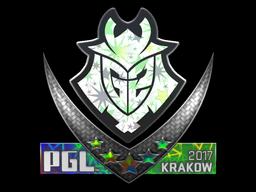 Sticker | G2 Esports (Holo) | Krakow 2017