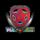 Sticker   Gambit (Holo)   Krakow 2017