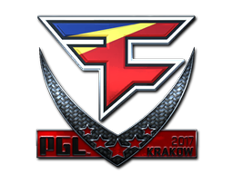 Sticker | FaZe Clan (Foil) | Krakow 2017