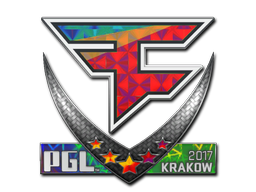 Sticker | FaZe Clan (Holo) | Krakow 2017