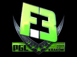 Наклейка | Flipsid3 Tactics (Foil) | Krakow 2017