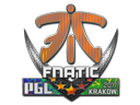 Sticker | Fnatic (Holo) | Krakow 2017