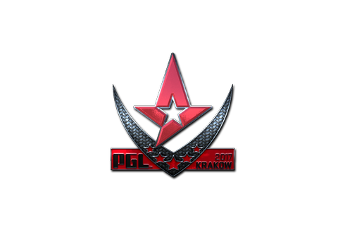 Sticker | Astralis (Foil) | Krakow 2017 Prices