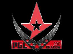 Sticker | Astralis | Krakow 2017
