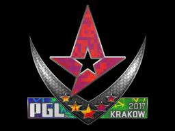 Sticker | Astralis (Holo) | Krakow 2017