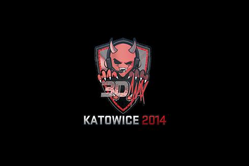 Sticker   3DMAX (Holo)   Katowice 2014 Prices