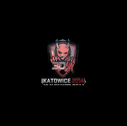 Sticker | 3DMAX (Holo) | Katowice 2014