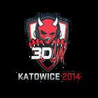 Sticker   3DMAX   Katowice 2014