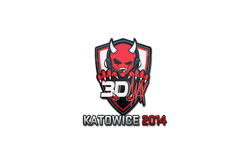 Sticker | 3DMAX | Katowice 2014 Prices