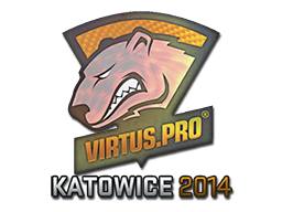 Sticker | Virtus.Pro (Holo) | Katowice 2014