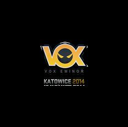 Sticker | Vox Eminor | Katowice 2014