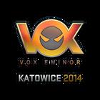 Sticker | Vox Eminor (Holo) | Katowice 2014