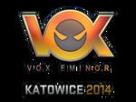 Sticker Vox Eminor (Holo)