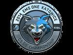 Sticker ESL Wolf (Foil)