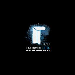 Sticker | Titan | Katowice 2014