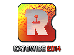 Sticker | Reason Gaming (Holo) | Katowice 2014