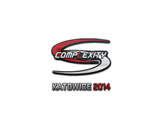 Skin Sticker | compLexity Gaming | Katowice 2014