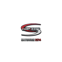 Sticker   compLexity Gaming   Katowice 2014