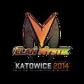 Sticker | Clan-Mystik <br>(Holo) | Katowice 2014