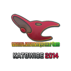 Sticker | mousesports (Holo) | Katowice 2014