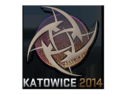 Sticker | Ninjas in Pyjamas (Holo) | Katowice 2014