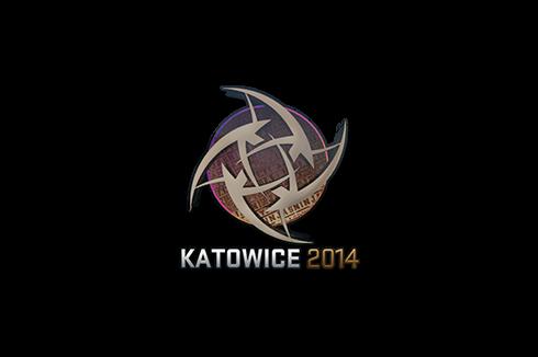 Sticker | Ninjas in Pyjamas (Holo) | Katowice 2014 Prices