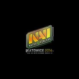 Sticker | Natus Vincere (Holo) | Katowice 2014