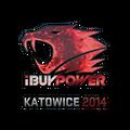 Sticker | iBUYPOWER <br>(Holo) | Katowice 2014