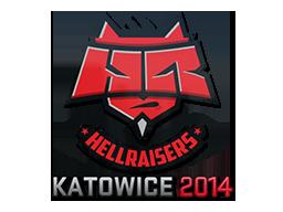 Sticker | HellRaisers | Katowice 2014