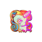 Sticker | Unicorn (Holo)