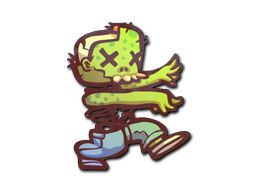 Sticker | The Zombie