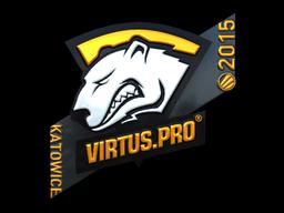 Sticker | Virtus.pro (Foil) | Katowice 2015