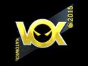 Sticker | Vox Eminor (Foil) | Katowice 2015
