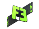 Наклейка | Flipsid3 Tactics | Катовице 2015