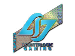 Sticker | Counter Logic Gaming (Holo) | Katowice 2015